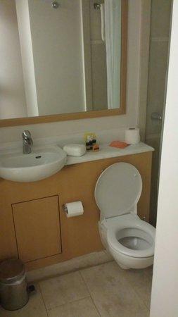 Central Athens Hotel: Toilette chambre double