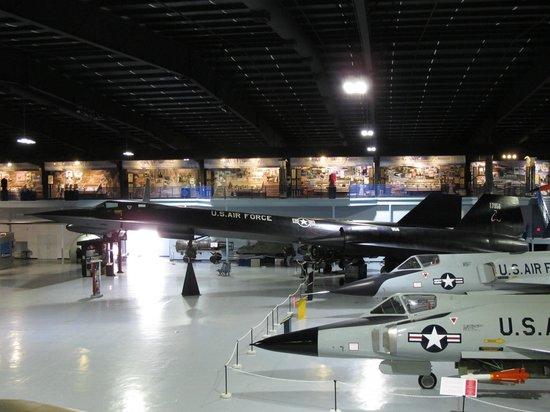 Museum of Aviation : le mythique et rare Blackbird