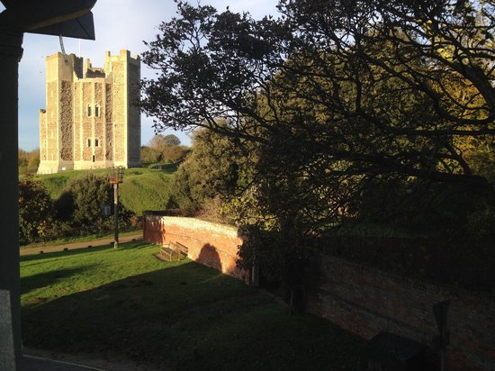 The Crown & Castle : View from room