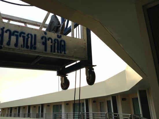 The Royal Paradise Hotel & Spa: No privacy