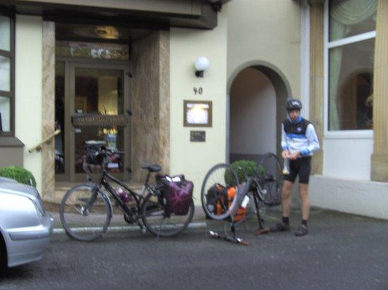 Hotel Günther Garni: fietsvriendelijk