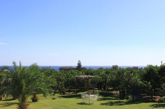 Torre Archirafi Resort: Blick aufs Meer
