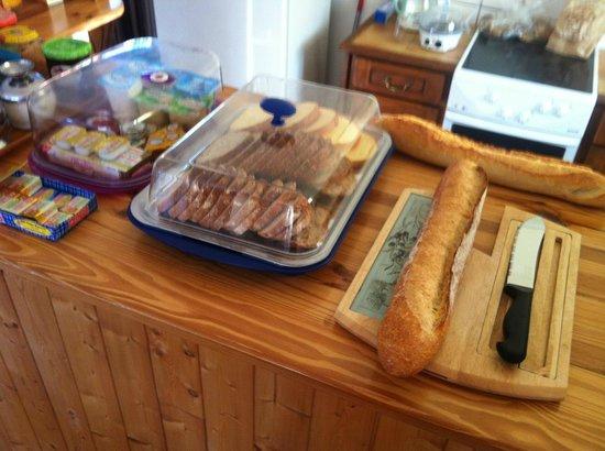L'Olivette des Alberes : petit déjeuner