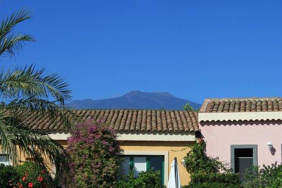 Torre Archirafi Resort: Der Ätna im Blickfeld