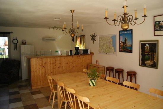 L'Olivette des Alberes : salle commune