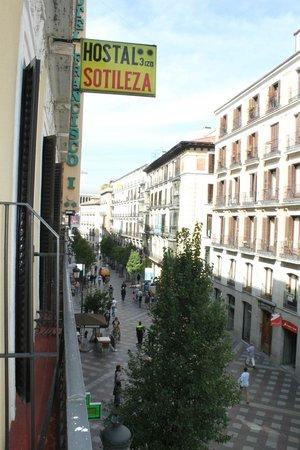 Hotel Francisco I: panorama dal balcone della camera