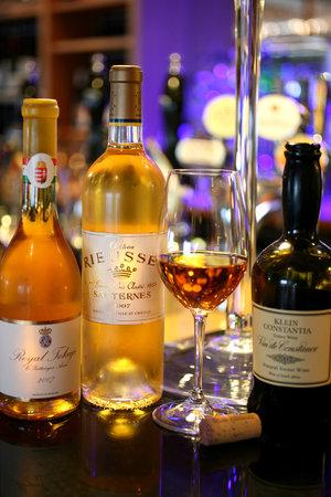 Seafood & Grill Restaurant: dessert wines