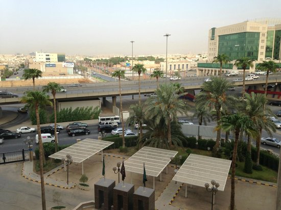 Sheraton Riyadh Hotel & Towers : View from the window