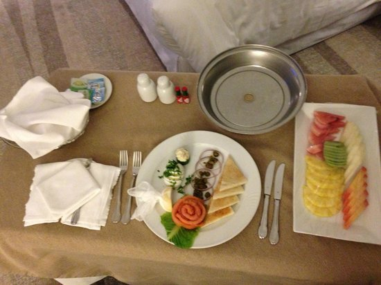 Sheraton Riyadh Hotel & Towers: In-room dining