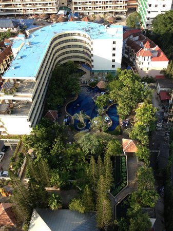 The Royal Paradise Hotel & Spa: view from junior suite