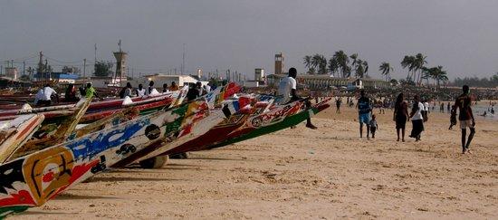 Dakar Region, Senegal: Plage de Kayar