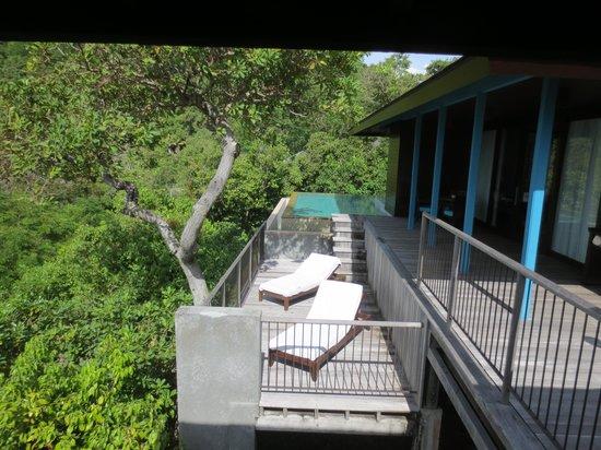 Four Seasons Resort Seychelles: Terrace