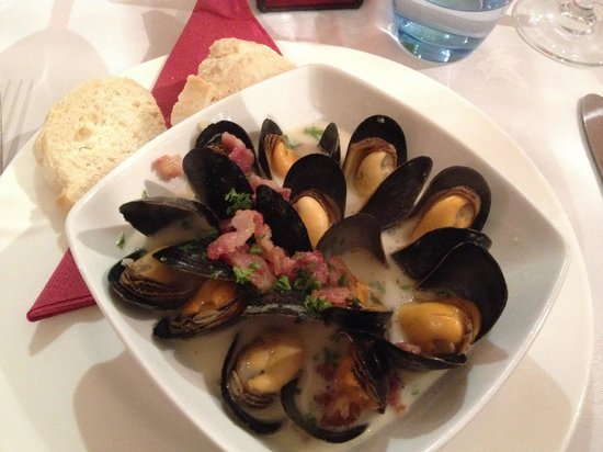 Take Thyme Fish Restaurant: Fresh delicious mussels!