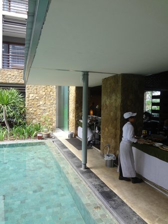 The Haven Bali: Breakfast Time