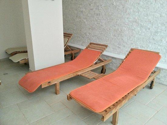 Hotel Terme Alessandra Gonzaga SPA: sala relax