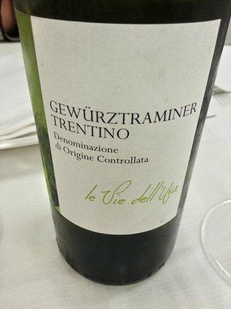Hotel Terme Alessandra Gonzaga SPA: il vino...etichette mediocri
