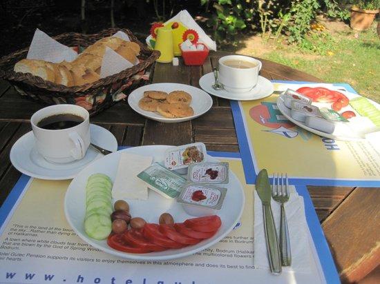 Hotel Gulec: Colazione in giardino