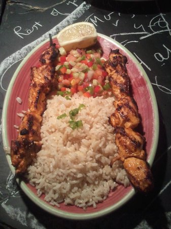 Olive Tree Cafe : Rice and Chicken. The best