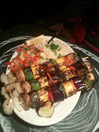 Olive Tree Cafe : Veg Dish