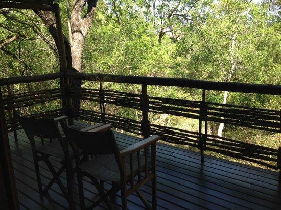 Thakadu River Camp: Balcony