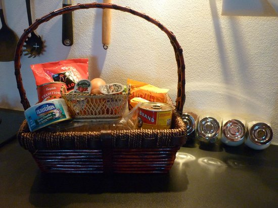 The Place Luxury Boutique Villas: Welcome hamper - very useful!