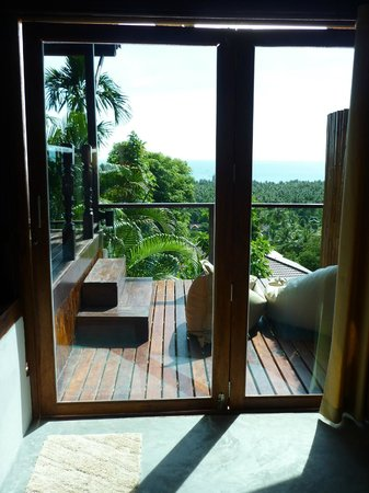 The Place Luxury Boutique Villas : Terrace from inside
