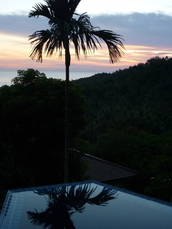 The Place Luxury Boutique Villas: Sunset view