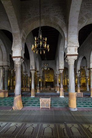 Grande Mosquée de Kairouan : Grand Mosque interior