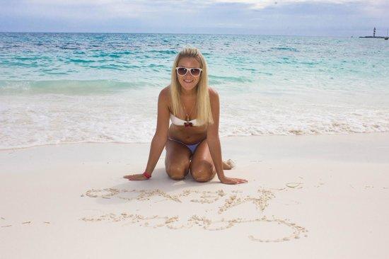 Hotel Riu Cancun: на пляже
