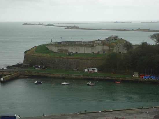 Nothe fort as viewed from the Sea life tower