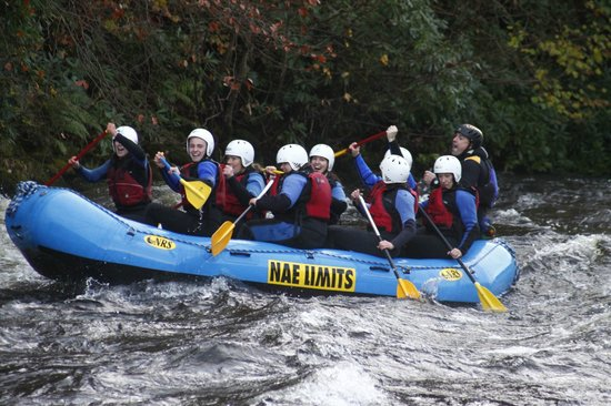 Nae Limits Adventure: White water rafting.