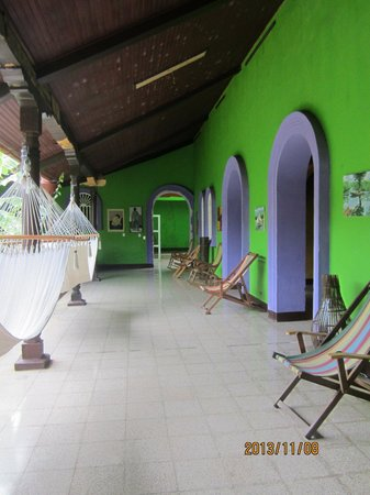 Hostel Libertad: Fabulous lounging area