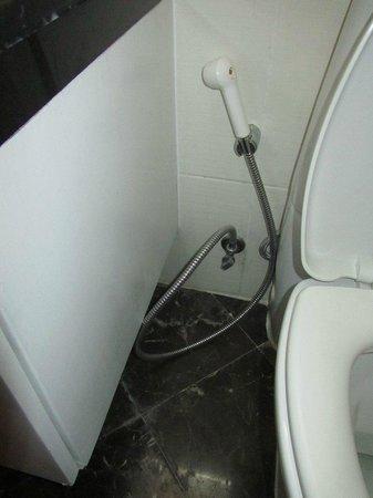 Urbana Langsuan: Broken toilet handle