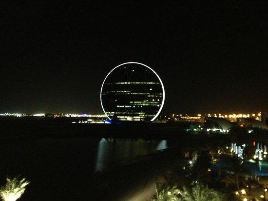 Al Raha Beach Hotel : красивый вид из окна