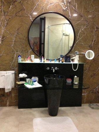 Al Raha Beach Hotel : ванная комната полностью оснащена