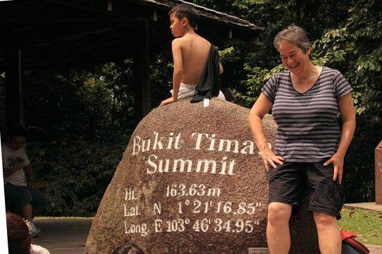 Bukit Timah Nature Reserve: The summit at last!