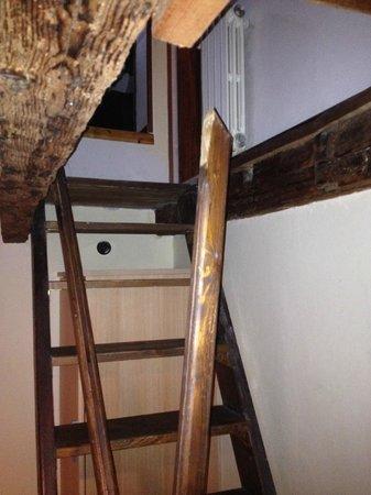 B&B Le Repubbliche Marinare : Stair rail