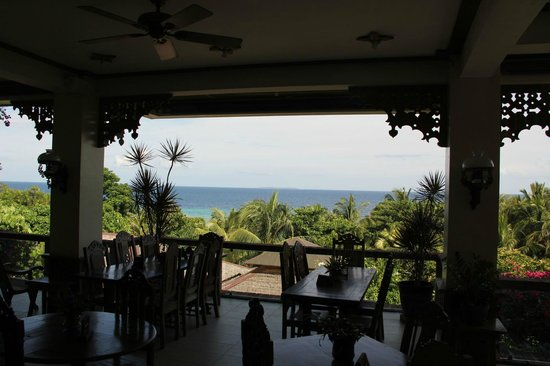 Amarela Resort: View from restaurant