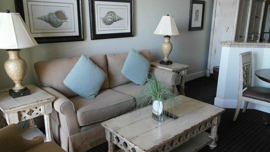 Oceano Hotel & Spa Half Moon Bay: Junior Suite Wohnbereich