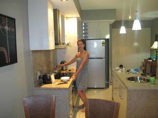 Fitzroy Island Resort : Cocinando