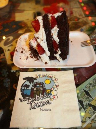 The Bubble Room Restaurant: Bolinho do Bubble Room