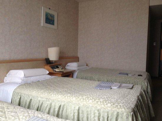 Narita U-city Hotel: Camas