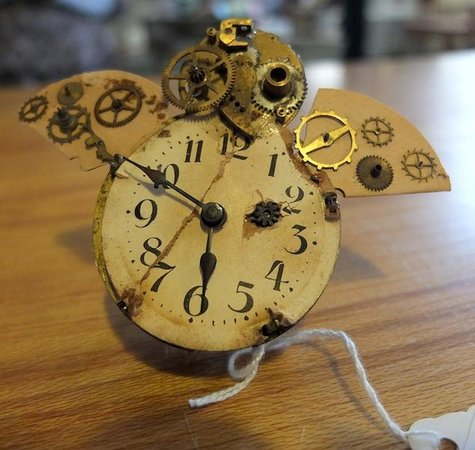 Chapel Gallery: Steampunk Owl Sculpture