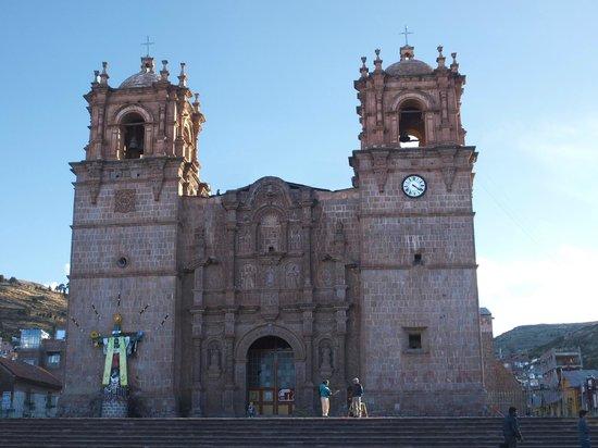 Qelqatani Hotel: Kathedrale Puno