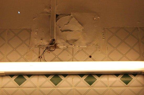 Treebo Kings Kourt: Falling Electrical Patch work
