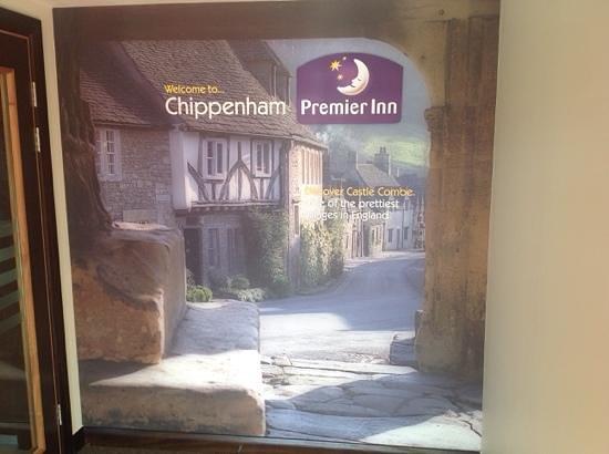 Premier Inn Chippenham Hotel: Chippenham Premier Inn Foyer