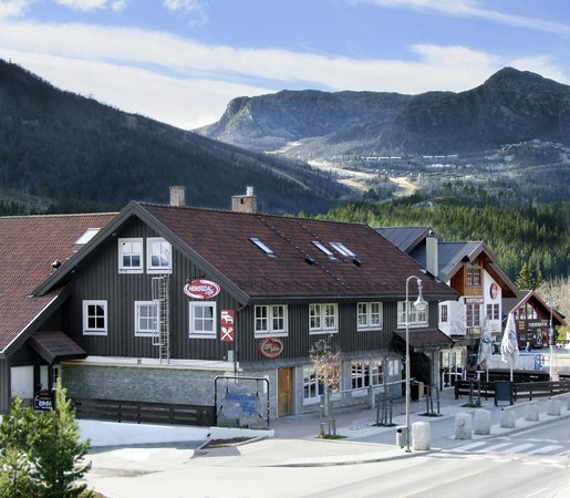 Hemsedal Cafe Skiers Lodge: The building is recently renovated