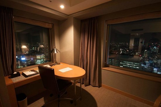Cerulean Tower Tokyu Hotel : View from the room (Sky View Room 33rd floor)
