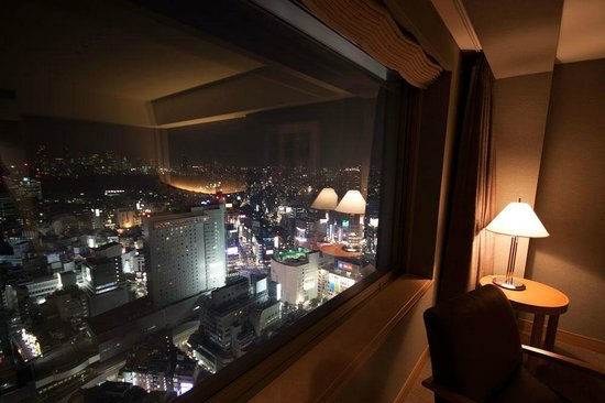 Cerulean Tower Tokyu Hotel: Shibuya Crossing View from the room 33rd floor Sky View