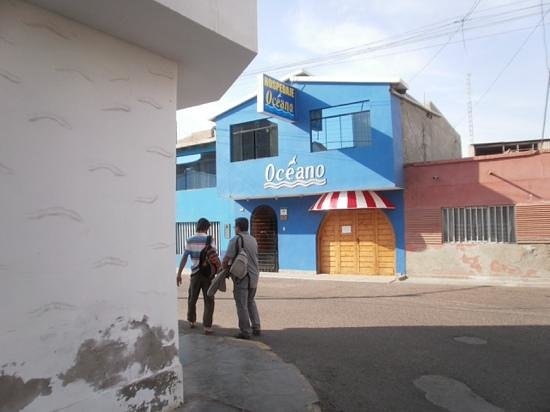 Hospedaje Restaurant Oceano: hostal Oceano Huanchaco